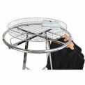 Grid Basket Rack Topper - Chrome