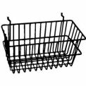 "12""W x 6""D x 6""H Narrow Basket - Semi-Gloss Black"