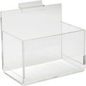 Acrylic Single Hosiery Bin - Clear