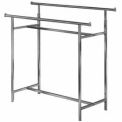 Adjustable Double Bar Rack - Chrome