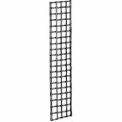 1'W X 5'H - Grid Panel - Semi-Gloss Black - Pkg Qty 3