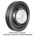 Browning Cast Iron, 2 Groove, QD 358 Sheave, 25V1500SF
