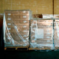 "LDPE Pallet Cover 51"" x 49"" x 97""  for Pallet Size 48"" x 48"" x 72"" 2 Mil Clear 50 Pack"