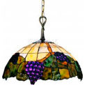 Landmark 227-VA Grapevine 2-Light Pendant, Vintage Antique - 15H X 17W