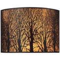 "ELK 31070/2 Woodland Sunrise 2-Light Sconce, Aged Bronze, 11""W x 5""D x 8""H"