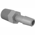 "1/4 - 18 NPT to 5/16"" Barbed Adapter, 316L Stainless Steel"