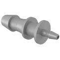 "3/16"" To 1/16"" Barbed Reduction Coupler, Gray Kynar"