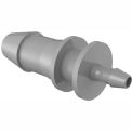 "1/4"" To 3/32"" Barbed Reduction Coupler, Gray Kynar"