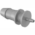 "1/4"" To 1/16"" Barbed Reduction Coupler, Gray Kynar"