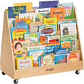 ECR4Kids® Double-Sided Book Display Birch