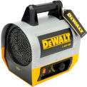 DeWALT® Portable Forced Air Electric Heater DXH165 1.6kW, 120V, Single Phase, 5,500 BTU