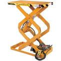 ECOA TabILift™ CDL Series Compact Double Scissor Lift Table CDL-10-36-18036-230-1 36x18 1000Lb