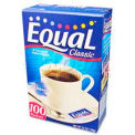 Equal®  Sugar Substitute, 0.035 oz.,  500/Box