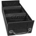 "Equipto Individual Metal Shelf Drawer, 5-5/8""w x 11""D x 3-1/8""H, Textured Evergreen"