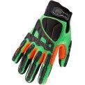 Ergodyne® ProFlex® Light Dorsal Impact-Reducing Gloves, M, Lime, 17053