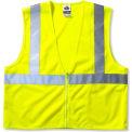 Ergodyne® GloWear® 8205Z Class 2 Super Econo Vest, Lime, 2XL/3XL