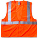 Ergodyne® GloWear® 8210Z Class 2 Economy Vest, Orange, 2XL/3XL