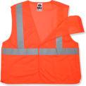Ergodyne® GloWear® 8215BA Class 2 Econo Breakaway Vest, Orange, L/XL
