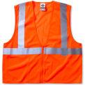 Ergodyne® GloWear® 8220Z Class 2 Standard Vest, Orange, 2XL/3XL