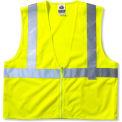 Ergodyne® GloWear® 8225Z Class 2 Standard Vest, Lime, 4XL/5XL