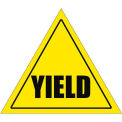"Durastripe 12"" Triangular Sign - Caution Yield"