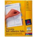 Avery® Printable Self-Adhesive Tabs, 1-1/4