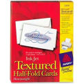 """Avery® Textured Half-Fold Greeting Card, 5-1/2"""" x 8-1/2"""", White, 30 Cards/Pack"""