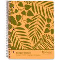 "Esselte® Earthwise 3-Subject Wirebound Notebook, 8-7/8"" x 11"", College Ruled, 150 Sheets/Pad"