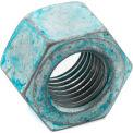 1/2-13 Heavy Hex Nut - Steel - Hot Dip Galvanized - Blue Dye & Wax - UNC - DH - ASTM A563 - 50 Pack