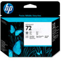 HP® 72 Printhead C9380A, Gray and Photo Black
