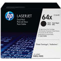 HP® HP 64X, (CC364XD) 2-pack High Yield Black Original LaserJet Toner Cartridges