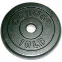 Iron Disc Weight Plate, 10 lb.