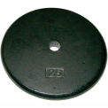 Iron Disc Weight Plate, 25 lb.