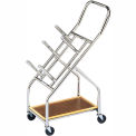 """Mobile Cart For Iron Disc Weight Plates, 350 lb. Capacity,  23-1/2""""L x 14""""W x 43""""H"""