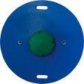 """CanDo® 16"""" Circular Wobble/Rocker Board, 2""""H, Green"""