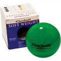Thera-Band™ Soft Weights™ Ball, Green, 2 kg/4.4 lb.