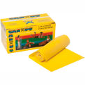 CanDo® Low Powder Exercise Band, Yellow, 6 Yard Roll, 1 Roll/Box