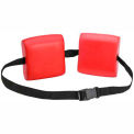 CanDo® Swim Belt with Two Oval Floats, Red
