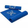"CanDo® Eco-Friendly Premium Yoga Mat, Blue, 68"" x 24"" x 1/8"""