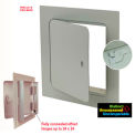 The Williams Brothers GP 100 8X16 Steel Premium Access Door, Cam Latch