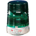 Federal Signal 131ST-012-024G Strobe, 12-24VDC, Pipe Mount, Green - 131ST-012-024G