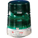 Federal Signal 131ST-120G Strobe, 120VAC, Pipe Mount, Green - 131ST-120G