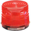 Federal Signal 141ST-120R Strobe light, 120VAC, Red - 141ST-120R