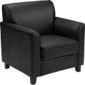 Leather Guest Chair - Black - Hercules Diplomat Series