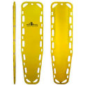 "Iron Duck® Ultra Vue 18 Spine Board, No Pins, Yellow, 72""W x 18""D x 1-3/4""H"