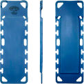 """Iron Duck® Pedi-Air-Align XL Spine Board, Blue, 48""""W x 16""""D x 1-1/2""""H"""