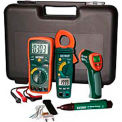 Extech TK430-IR Industrial Troubleshooting Kit W/IR, Orange/Green, Case Included, AC Capable