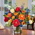 OfficeScapesDirect Mixed Bouquet Silk Flower Arrangement