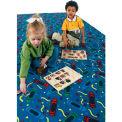Children Educational Rugs SCRIBBLES 6X6