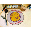 "North Alabama Baseball Rug 29"" Dia."